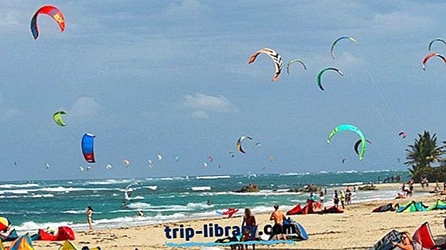 Kiteboarding على طائرة ورقية بيتش ، Cabarete: الدروس ، المدارس ، نصائح وأين البقاء