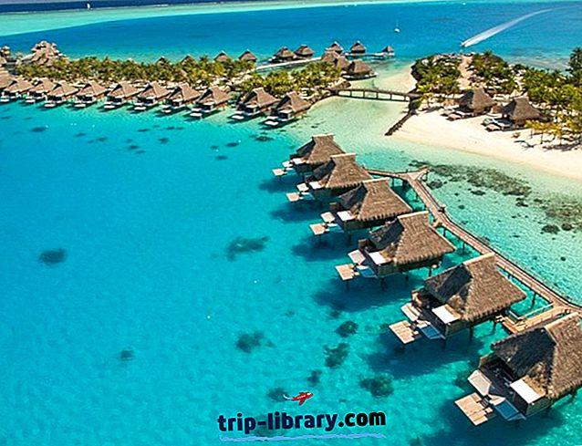 12 khu nghỉ dưỡng được xếp hạng hàng đầu tại Tahiti