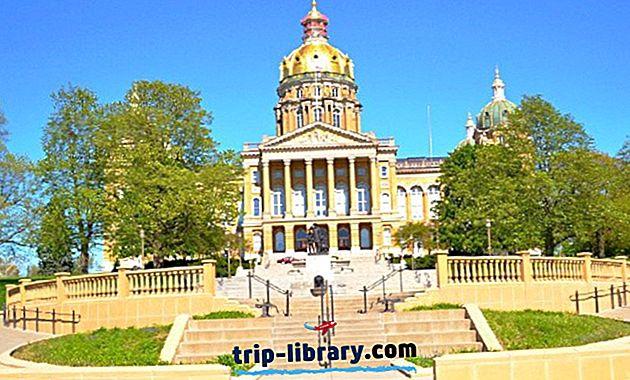 アイオワ州の12トップ評価の週末旅行先