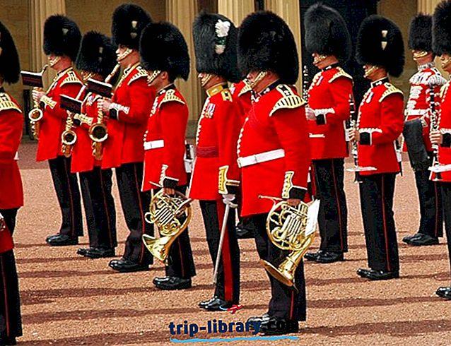 17 najbolj priljubljenih turističnih znamenitosti v Londonu