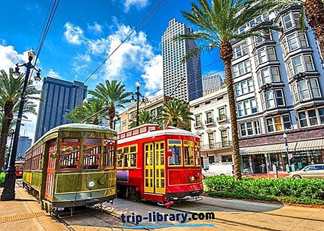 Tempat tinggal di New Orleans: Kawasan & Hotel Terbaik