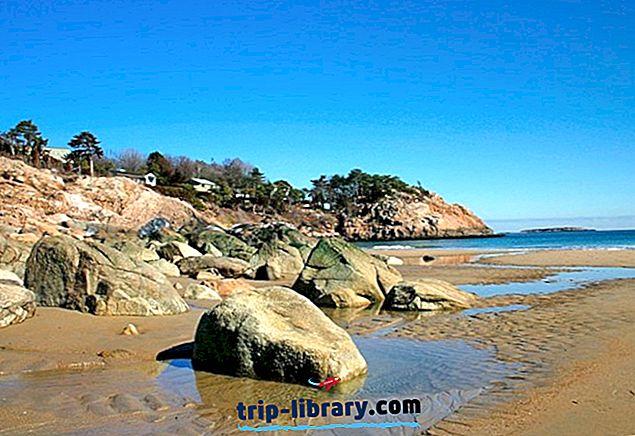 12 vrhunskih plaž v Novi Angliji