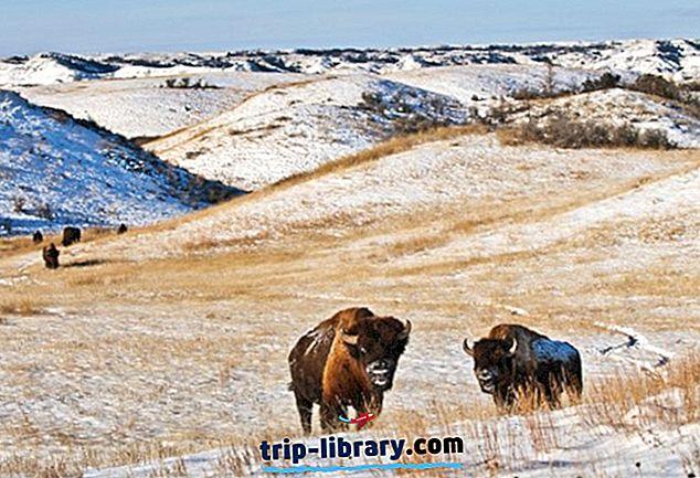 9 Najbolje ocijenjene turističke atrakcije u Sjevernoj Dakoti