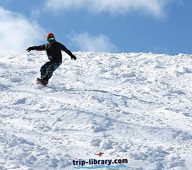 8 Nejlépe hodnocených lyžařských středisek v Michiganu, 2018