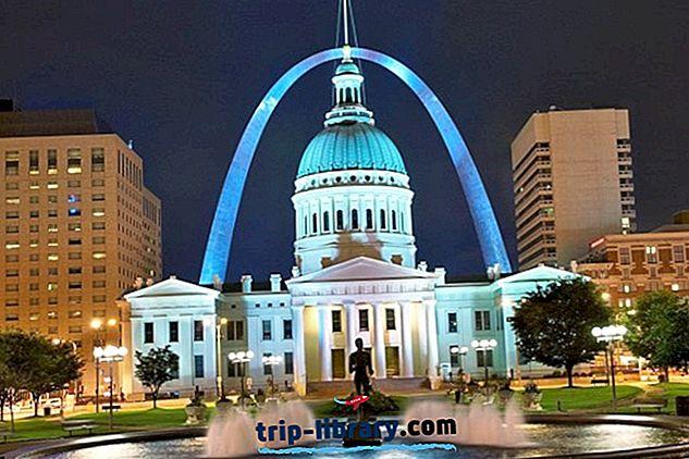 Boendet i St. Louis: Bästa områden och hotell, 2018