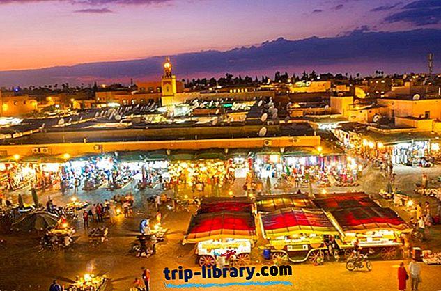 Overnatting i Marrakesh: Beste områder og hoteller, 2018