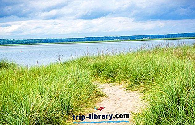 6 populære strande i New Hampshire