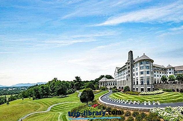 15 førsteklasses resorts i North Carolina