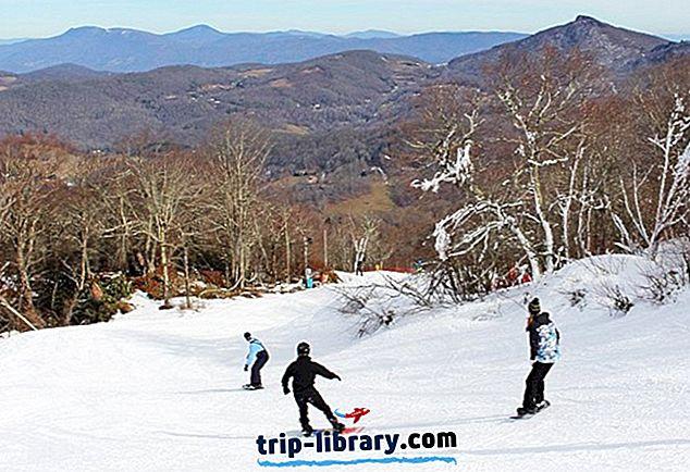 5 Nejlépe hodnocených lyžařských středisek v Severní Karolíně, 2019