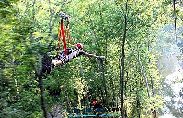 10 legnépszerűbb hely a Ziplining számára Ohio-ban