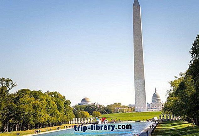 Washington DC-s viibimine: parimad piirkonnad ja hotellid, 2019