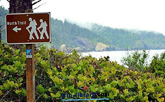 12 populiariausių stovyklaviečių Oregono pakrantėje