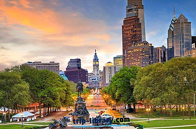Gdzie się zatrzymać w Filadelfii: Najlepsze obszary i hotele, 2019