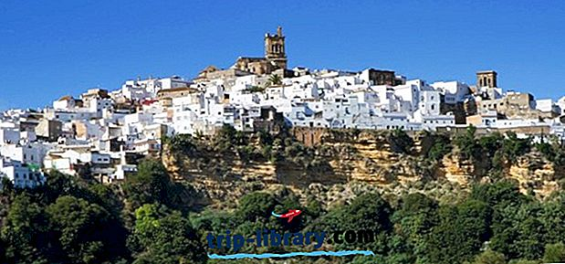 10 Topprankade Pueblos Blancos (vita byar) i Andalusien
