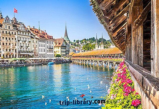 Kui peatute Luzernis: parimad piirkonnad ja hotellid, 2018
