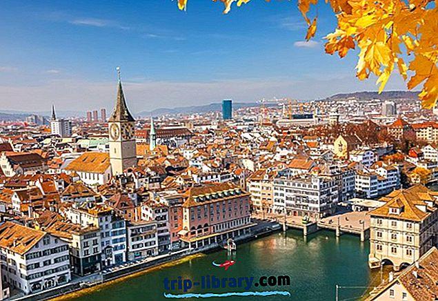 Hol szálljon meg Zürichben: Legjobb helyek és szállodák, 2018