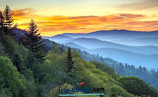 11 Najlepšie hodnotené turistické atrakcie v Gatlinburgu a Smoky Mountains
