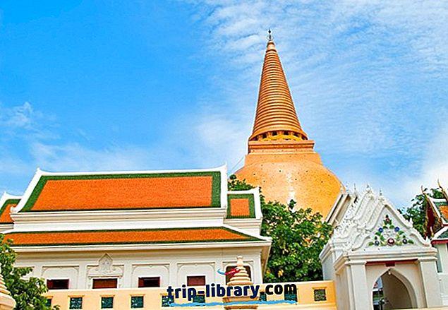 Populaarseimad vaatamisväärsused Nakhon Pathomi linnas