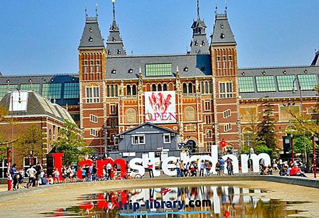 Amsterdam bölgesindeki en popüler 17 turistik gezi