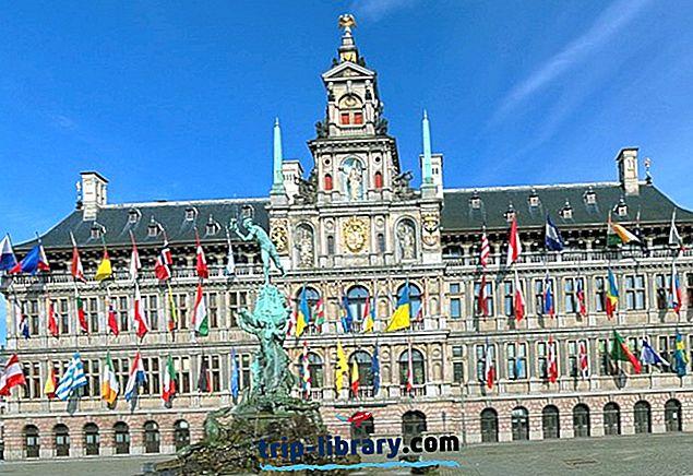 12 Touristenattraktionen in Antwerpen