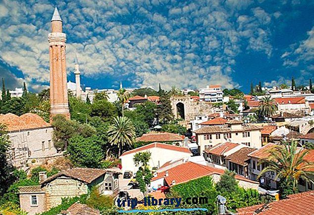 17 Nejlépe hodnocené turistické atrakce v Antalyi