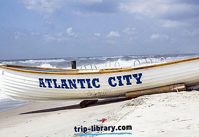 12 populiariausių turizmo atrakcionų Atlanto mieste