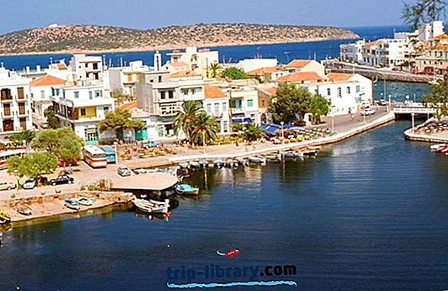 7 najbolj priljubljenih turističnih znamenitosti v mestu Áyios Nikólaos