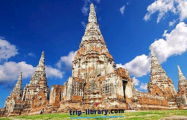 12 Najlepšie hodnotené turistické atrakcie v Ayutthaya