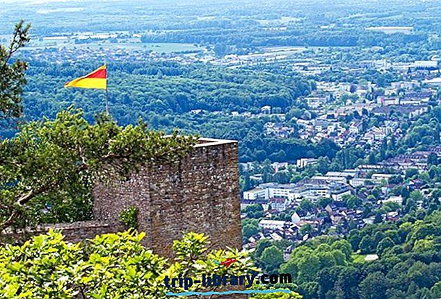 14 tipp-turismiatraktsioonid Baden-Badenis
