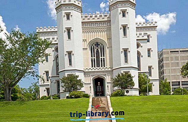 11 Topprangerte turistattraksjoner i Baton Rouge