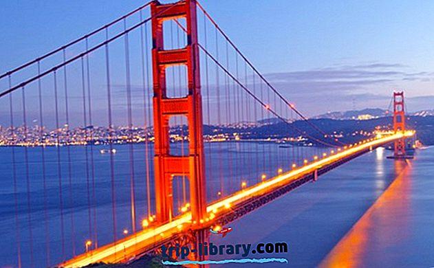 14 Najbolje ocijenjenih turističkih atrakcija u Kaliforniji