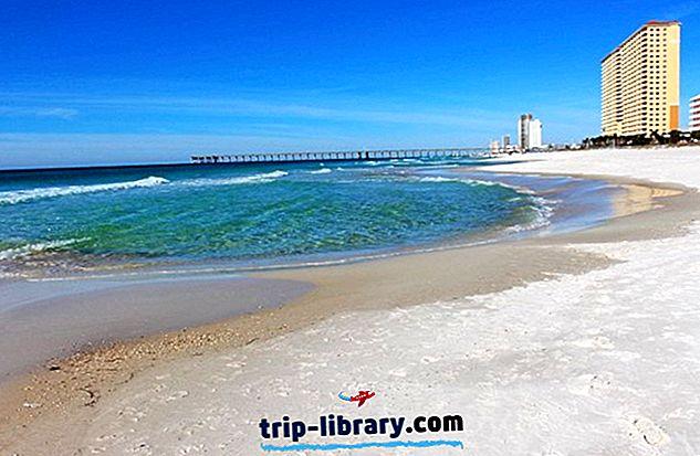 12 populaarseimat turismiobjektid Panama City Beachis, FL