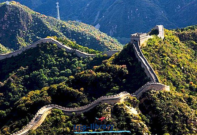 15 Najlepšie hodnotené turistické atrakcie v Číne