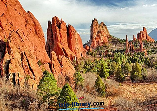 12 populiariausių turistų lankomų vietų Kolorado Springsas