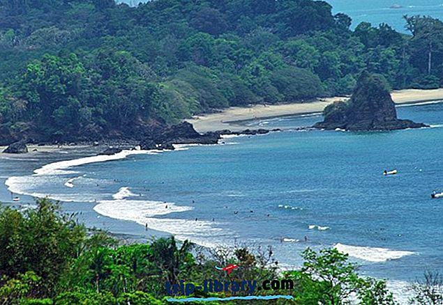 15 mest populære turistattraktioner i Costa Rica