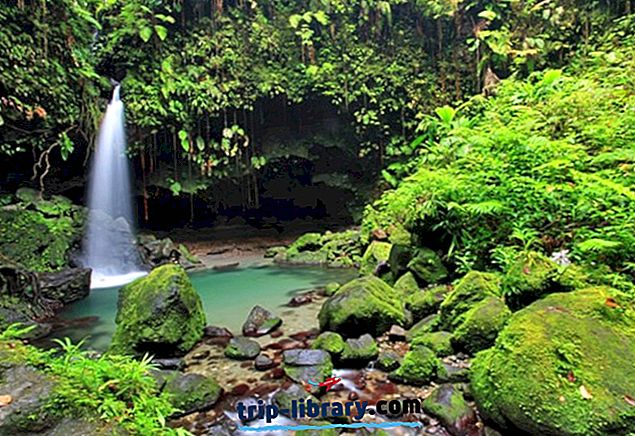 10 Najlepšie hodnotené turistické atrakcie v Dominike