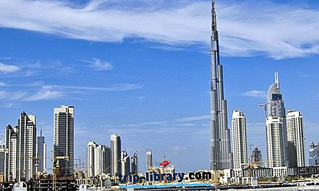 25 найкращих туристичних визначних пам'яток Дубая