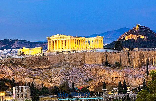12 populiariausių turistinių vietų Graikijoje