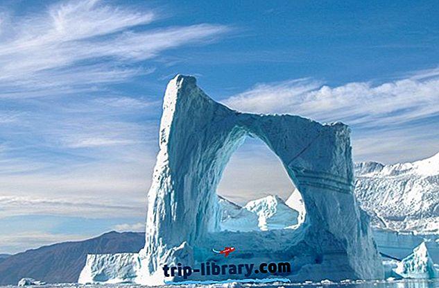 10 Najlepšie hodnotené turistické atrakcie v Grónsku
