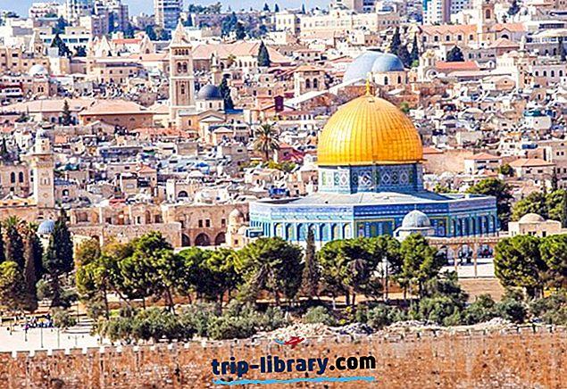 12 điểm du lịch được xếp hạng hàng đầu ở Israel và Lãnh thổ Palestine