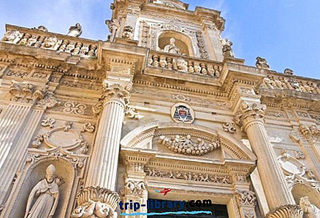 12 Nejlépe hodnocené turistické atrakce v Lecce