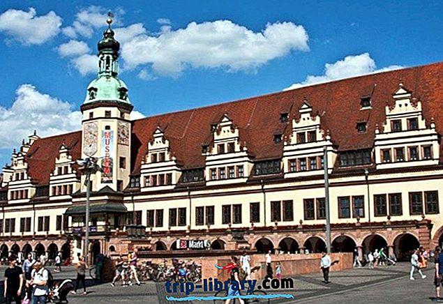 16 populārākās tūristu apskates vietas Leipcigā