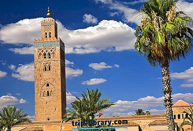 16 مناطق الجذب السياحي الأعلى تقييمًا في مراكش