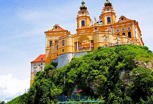 11 найкращих туристичних визначних пам'яток в місті Мельк