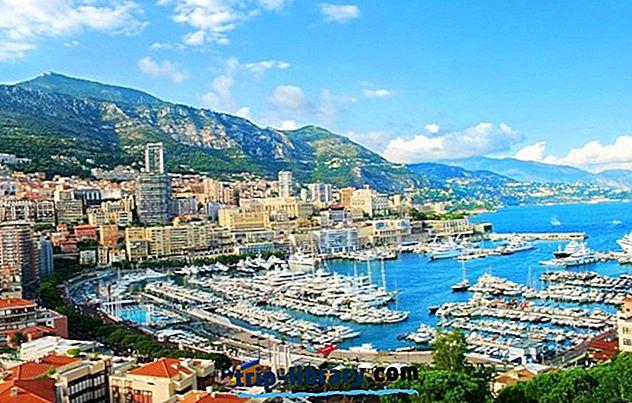 17 Populārākās tūristu apskates vietas Monako un Easy Day Trips
