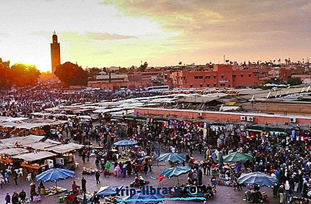 14 Atrações Turísticas mais votadas em Marrocos