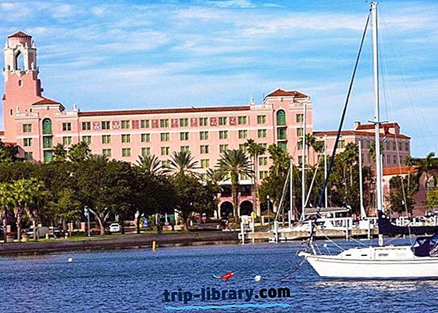 8 Bedst bedømte feriesteder i St. Petersburg, FL