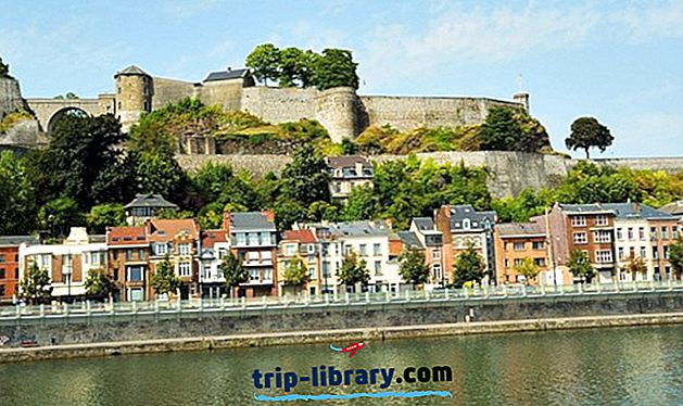 14 Najlepšie hodnotené turistické atrakcie v meste Namur