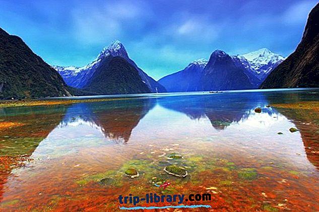 12 Nejlépe hodnocené turistické atrakce na Novém Zélandu