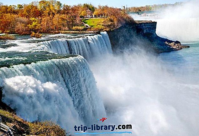 8 Najlepšie hodnotené turistické atrakcie v Niagarských vodopádoch, NY